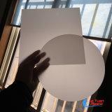 둥근 서리로 덥은 LED 플라스틱 아크릴 가벼운 유포자 장