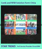 Tarjeta de Nonstanda, allí en una tarjeta, tarjeta de etiqueta dominante de Cr80+One