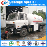 Carro del dispensador de Dongfeng 170HP 4X2 Q345r 10000liters 5tons LPG