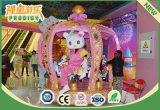 遊園地装置のミュージカルの子供6のシートの小型コンベヤーの馬の乗車