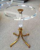 Cristallo creativo - tavolino da salotto rotondo acrilico libero