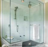 Framelessのシャワー・カーテンのための緩和されたガラス