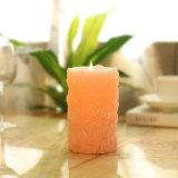 ローズの形Flameless LEDの蝋燭の結婚式のための電子蝋燭ライト