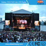 P4.81 RGB Full Color Outdoor Rental LED TV Screen