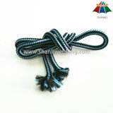 Hochwertiges 6mm multi Farben-Nylon/Polyester/Baumwollumsponnenes Seil/-netzkabel