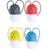 Haut-parleur à la mode de Bluetooth d'extérieur de 4 couleurs avec l'éclairage LED imperméable à l'eau