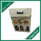 Sac de vin blanc de paquet de 3 bouteilles avec le traitement (point de gel 8039116)