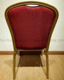 ホテルの家具のスタック可能宴会のホールの結婚式鋼鉄ファブリック宴会の椅子