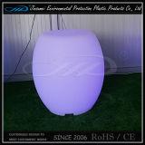 플라스틱 LED에 의하여 조명되는 Furnitue 의자