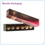 Boîte de empaquetage à chocolat fait sur commande de mariage