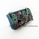 China-Lieferanten-Form-Dame Flower Decoration PU Handbags (NMDK-061602)