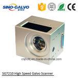 Testa Sg7210 della marcatura del laser di precisione con il certificato del Ce