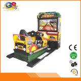 Juego electrónico de conducción de fichas el competir con de coche del juego de la máquina de la arcada de Malasia libremente