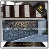 レーザーの切口の金属の装飾のためのアルミニウム庭の塀のパネル