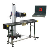 CO2 metal Tubo Máquina de marcado láser de papel / madera / acrílico / plástica / Tela