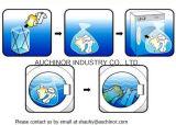 Bolso soluble en agua y disponible de la pesca del bolso del perro del bolso del lavadero de PVA