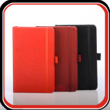 Тетрадь плановика дневника бумаги книга в твердой обложке PU профессиональной таможни кожаный