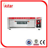 Печь пиццы газа для фабрики машины прибора оборудования еды кафетерия магазина кафа пиццы в Китае
