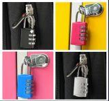 Het Slot van het Stootkussen van de Combinatie van Resetable van vijf Kleuren met MiniGrootte