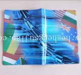 良質PVCパスポートのホールダーカバーはとの眩ます明るいオフセット印刷(YJ-I010)を