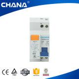 Электронный тип с автоматом защити цепи RCBO предохранения от перегрузок по току