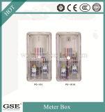 Contenitore monofase pagato anticipatamente casella trasparente di circuiti del quadro di distribuzione del tester del drive-in di IP43
