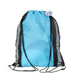 Poliéster Dust Sport Gym Tecido Sapatos Drawstring Bag