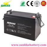 Батарея 12V100ah геля перезаряжаемые глубокого цикла свинцовокислотная для солнечного