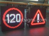 Coste efectivo del tráfico exterior señal de tráfico digital LED exhibición de la muestra