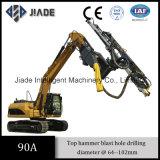 Máquina 90A Top martillo de percusión hidráulica Drifter voladura de perforación