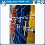Sistema de acero del encofrado del panel para el concreto de la pared