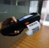 De mobiele Handbediende Terminal van de Datum met Printer en de Scanner van de Code Qr voor het Beheer van de Inventaris