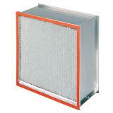 Высокотемпературный фильтр Pleat HEPA с сепаратором алюминиевой фольги