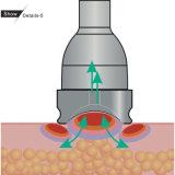 바디 윤곽을 그리고는 및 셀룰라이트 감소를 위한 빛 그리고 진공 치료