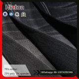 Webart-Jeans-Gewebe des Satin-16*300d/40d mit hoher Ausdehnung