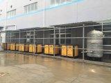 100HP 75kw örtlich festgelegte Geschwindigkeits-Drehschrauben-Luftverdichter