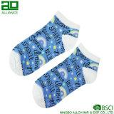 Носки лодыжки спорта шаржа радуги идущие изготовленный на заказ