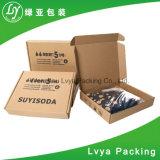 Caixa de armazenamento de empacotamento do cartão ondulado do costume forte do papel de embalagem