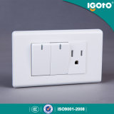 Universal Estilo Elétrico 10A Switch e Socket Outlet