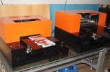 携帯電話の箱またはプラスチックカードまたは透過名刺の印刷のための多機能の紫外線プリンターデジタル紫外線平面プリンター