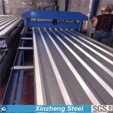 Гальванизированный стальной лист, настилая крышу гальванизированный лист, гальванизированный рифленый лист