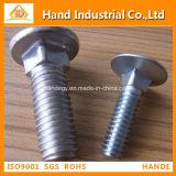 Beste Voorraad 316 van de Prijs DIN603 de HoofdBout van de Paddestoel van het Roestvrij staal