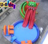 Парк воды дракона раздувной подвижной с системой водообеспечения