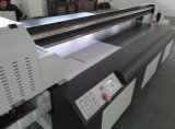 Impresora plana ULTRAVIOLETA de Digitaces para los azulejos del panel \ del vidrio de pared de la impresión 3D de madera