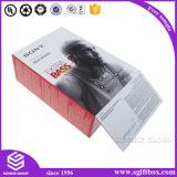 Earplugs шлемофона микрофона бумажной коробки высокого качества черные упаковывая