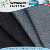 Estilo caliente de la tela cruzada de la venta de la manera que hace punto la tela hecha punto del dril de algodón para los pantalones vaqueros