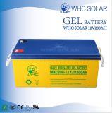 Grande batteria solare del gel di qualità 12V200ah di capacità elevata per il sistema