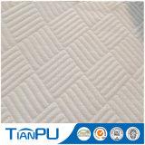 Tissu de coutil de matelas tricoté par polyester de modèle d'OEM