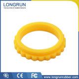 Kundenspezifische weiße Silikon-Gummi-Teile für industrielles Bauteil