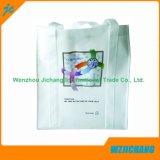 Pieghevoli su ordinazione promozionali riciclano il sacchetto di acquisto non tessuto dei pp